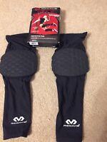 McDavid HEX Tuf Dual Density Volleyball Knee Pads 6452XDD Small Black