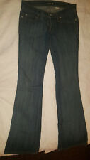 Women's Jeans Frankie B. Skinny Boot Embellished Dark Wash Size 4