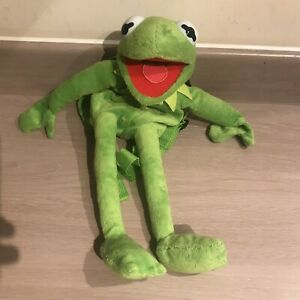 Kermit the frog plush small backpack New without tags