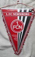 *RAR* Orig. Großer 36 cm Wimpel 1.FC Nürnberg Bundesliga Fussball FCN Club DFB