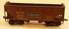 Frisco SL-SF 90883 - 35' Ore Hooper car- VG Cond knuckle Couplers Sprung Trucks