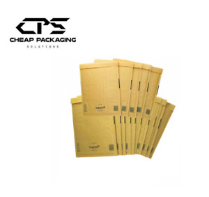 CPS Genuine Mail Lite Gold Bubble Padded Envelopes Bags-25 Pcs
