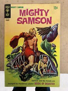 Mighty Samson #17 February 1969 Low Grade Gold Key 2.0-3.0 Good Reader Copy