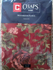 Chaps Westbrook Floral Tablecloth 60 X 102 Oblong Multi-Colored New in Package
