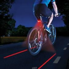 The Rechargeable Turn Signal Safety&Virtual Riding Lane Bike Bicycle Light