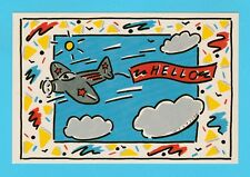 NOVELTY  -  JUST  SEVENTEEN  POSTCARD  -  HELLO  POSTCARD  -  1  OF  8
