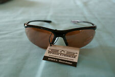 Epoch Eyewear Sport Sunglasses Black/Amber