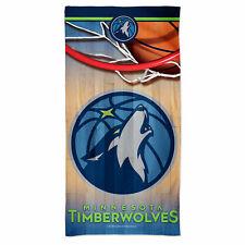 Fanatics Minnesota Timberwolves Spectra Beach Towel - 30 x 60in