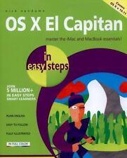 OS X El Capitan in easy steps: By Vandome, Nick