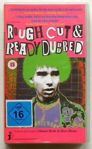 V/A - Rough Cut & Ready Dubbed VHS FIRST 1990s ISSUE Sham 69 SLF Purple Hearts