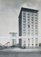 Karlsruhe - Entenfang - Hochhäuser - um 1955               H 9-15