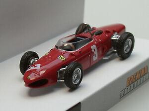 Brekina Ferrari F 156, 1961, #3, R.Rodriguez, rot - 22991 - 1:87