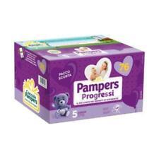 Pampers progressi quadripack Junior taglia numero 5 (11-25Kg) 76 pannolini