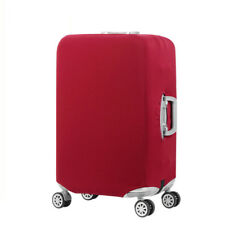 """Plain Travel Luggage Cover and Suitcase Protector XL Red Wine, 29-32"""" Luggage"""