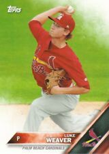 2016 Topps Pro Debut Baseball #48 Luke Weaver Palm Beach Cardinals