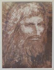 Ernst FUCHS (1930-2015) Orig. Lithographie Anno 1982, unsigniert ! : JAHVE 6/8