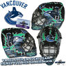 2012 VANCOUVER CANUCKS Team Signed Full Size GOALIE MASK w/COA - LUONGO