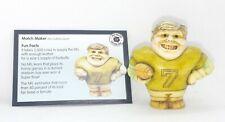 Pot Bellys Harmony Kingdom Match Maker Miniature Figurine With Fact Card Nib