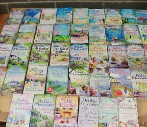 JOB LOT 52 x DEBBIE MACOMBER Books, Various Titles - 250