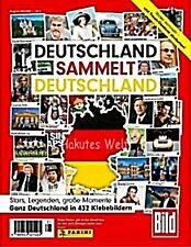 Deutschland sammelt Deutschland - 100 verschiedene Sticker