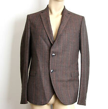 $1850 New Authentic Gucci Mens Wool Suit Coat Jacket Blazer 50R/US 40R #296852