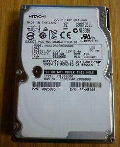 "Hitachi HUC106060CSS600, 600 GB, 10000 RPM (10k), 2.5"" HDD, SAS, CHIA mining"