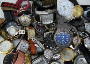 HUGE LOT 4 LBS 41 WATCHES SWATCH TIMEX DEJUNO ICE JOAN RIVERS WEAR REPAIR PARTS