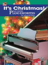 IT'S CHRISTMAS! DAN COATES PIANO FAVORITES FOR ADVANCED PIANO-MUSIC BOOK-NEW!!