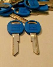 Chevy GM Chevrolet Ilco B49-P Key Blank B Keyway Blue Plastic 20 Blanks