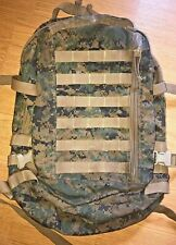 USMC Marine ILBE WOODLAND MARPAT 3 Day Assault Pack BACKPACK  MILITARY ISSUE GC
