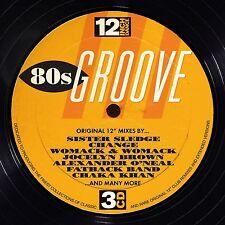 12 INCH DANCE:80S GROOVE 3 CD  30 TRACKS  NEU ROCHELLE/CHANGE/LARRY WU/+