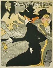 bcf1ab78635 Henri de TOULOUSE-LAUTREC - Lithographie monogrammée - Le divan japonais