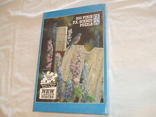 FX Schmid BACK TO NATURE BLUEBIRD 300 Piece Jigsaw Puzzle NEW SEALED Made In USA
