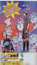 9788891257314 Giant Killing 27 Tsunamoto-Tsujitomo 1^Ediz Planet Manga Fumetto