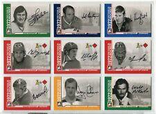 2009-10 ITG 1972 The Year In Hockey Autographs  #AVS Vladimir Shadrin