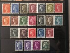 LUXEMBOURG 1948-53 Charlotte MNH OG COMPLETE SET OF 24 VALUES