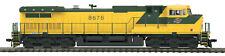 HO MTH Chicago Northwestern Dash-9 Diesel for 2 Rail DC w/DCC & Sound 80-2296-1