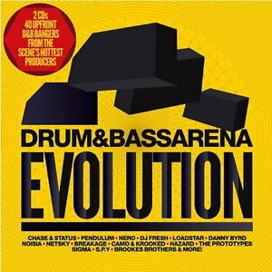 Drum And Bass Arena - Evolution Double CD Ft DJ Fresh, Pendulum, Loadstar etc