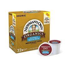 Newman's PremuimCoffee Special Blend Keurig Own Organics Medium Roast K-Cup Pods