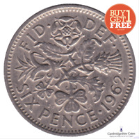 1947 - 1967 BRITISH LUCKY SIXPENCE WEDDING GIFT FAVOUR BUY ONE GET ONE FREE