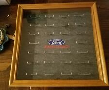 18 x 18 Nascar Ford Racing Matchbox Diecast  type Car Case RARE!
