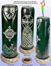 Celtic Dragon Magic Tower Stick - Cone Incense Burner by Nose Desserts 2850-03