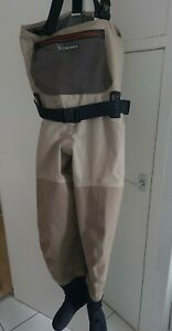 Simms G3 Goretex Guide Waders Stockingfoot - Size S  Good condition. Fly fishing