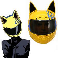 Celty Sturluson Helmet Anime DuRaRaRa Cosplay Costume Prop Motor Mask Xcoser
