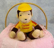 VTG Knickerbocker Curious George Plush Monkey Yellow Shirt Ball Cap