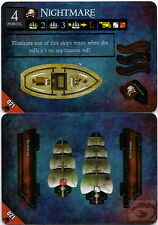 Wizkids Pirates Pocketmodel - Nightmare (4 pts) (Ship) DJC 021 C