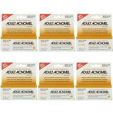 6 Pack Adult Acnomel Tinted Cream Acne Medication - 1.30 oz (36 g) Each