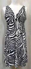 Rafaella Petites Zebra Print Dress NWT  Size Small  Sleeveless   C04