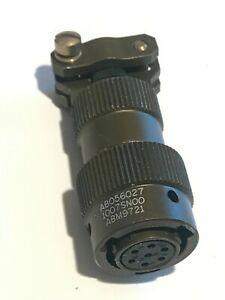 AB05 6027 10 07 SN00  7 POLE MILITARY FEMALE CABLE MOUNT CONNECTOR        ad1f13
