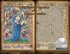 Bible in Old Swedish with Commentaries Date Created 1526 AD